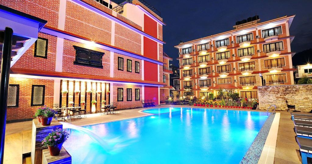 Hotel with Swimming Pool in Pokhara