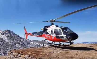 Damodar Kunda Helicopter Tour