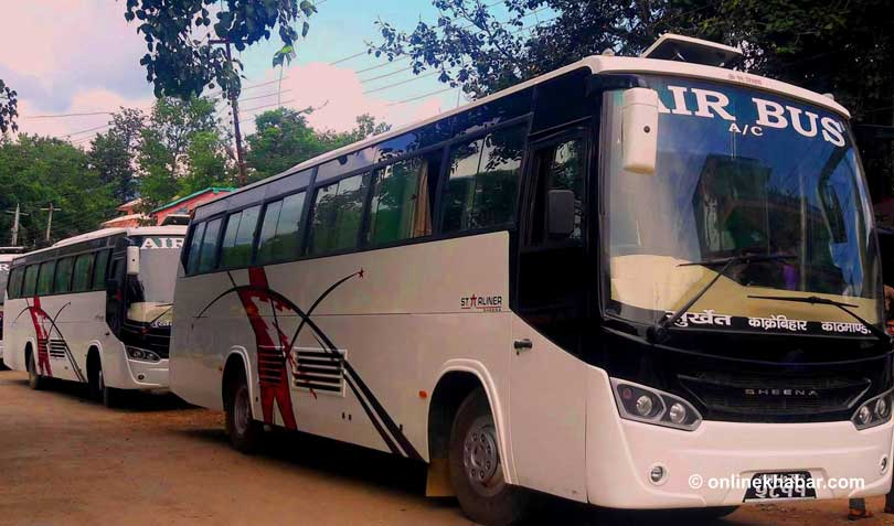 Kathmandu to Surkhet Bus ticket