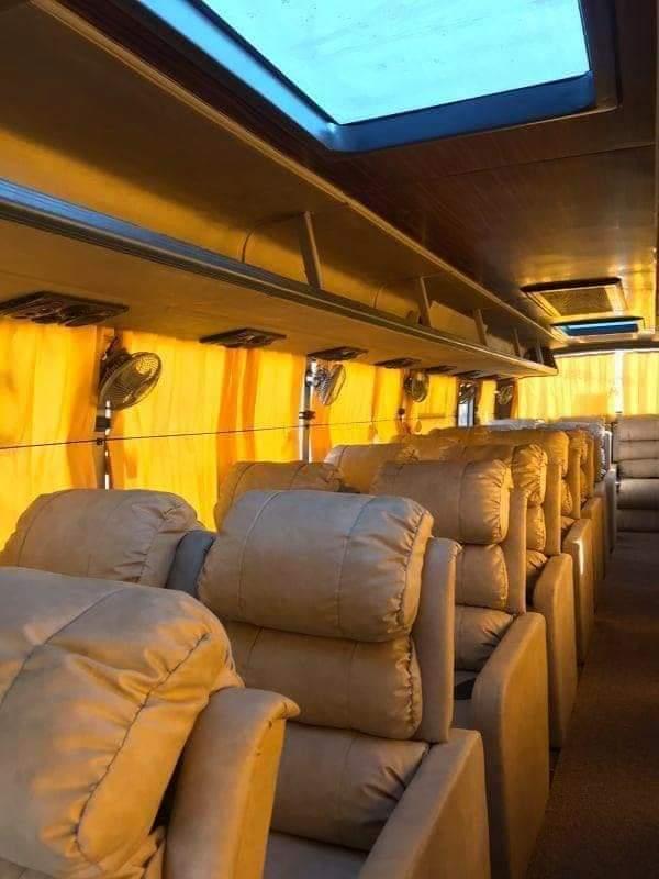 Kathmandu Pokhara Sofa Seat Bus
