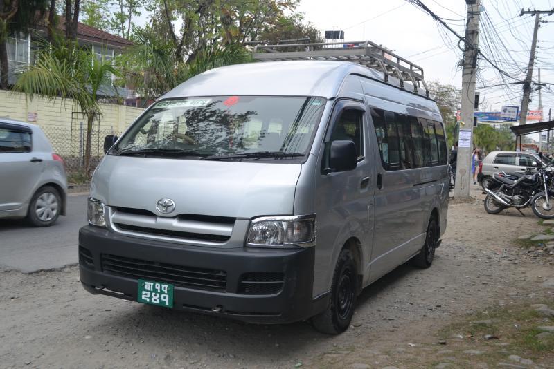 Hiace Rental in Kathmandu