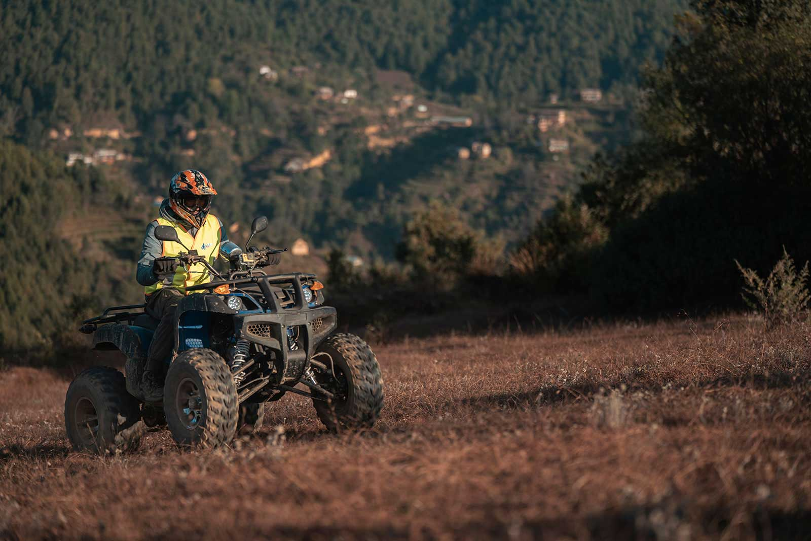 Quad Bike Ride in Chitlang