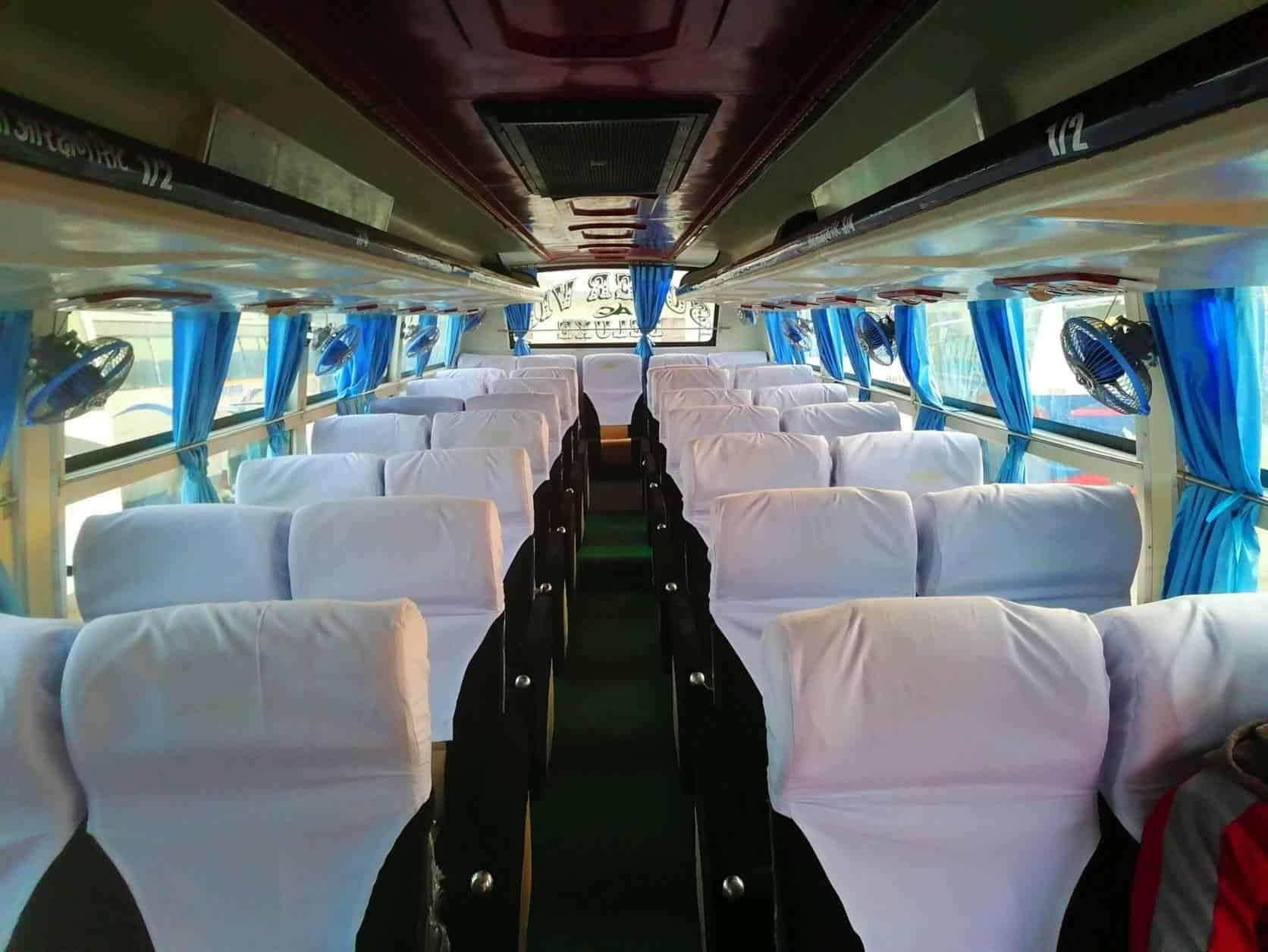 Kathmandu Pokhara Super Deluxe Bus with Toilet Night Bus