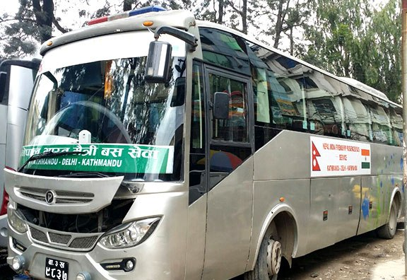Kathmandu to Delhi Bus Ticket