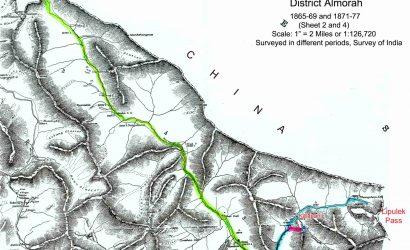 New Map of Nepal with Lipulek, Limpiadhura and Kalapani