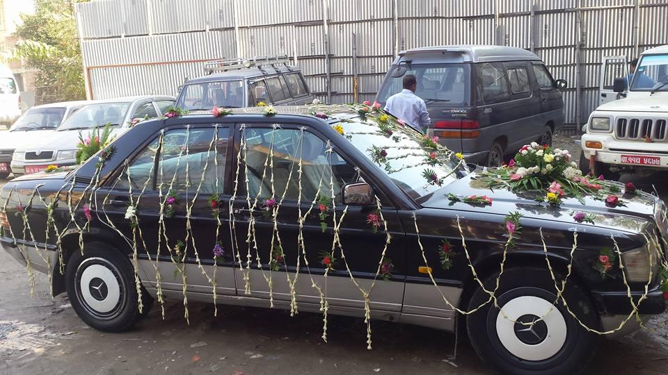 Vintage Car Rental for Wedding in Kathmandu