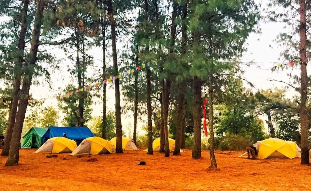 Hattiban Resort camping - Camping around Kathmandu