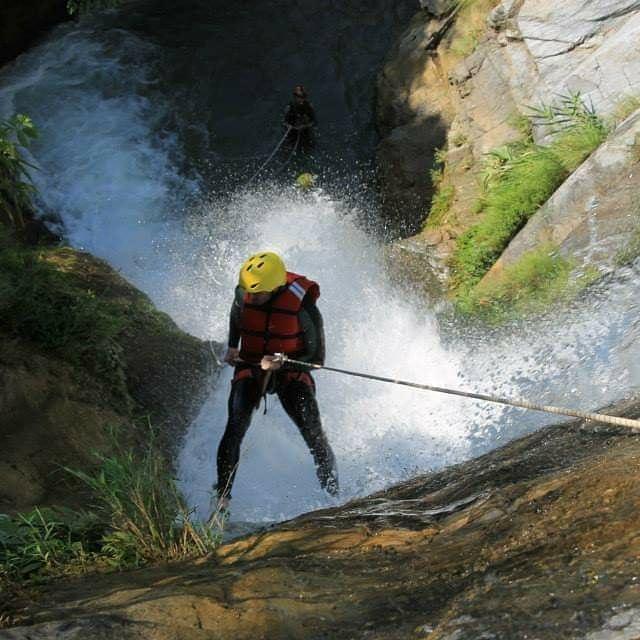 Jalbire Canyoning Chitwan