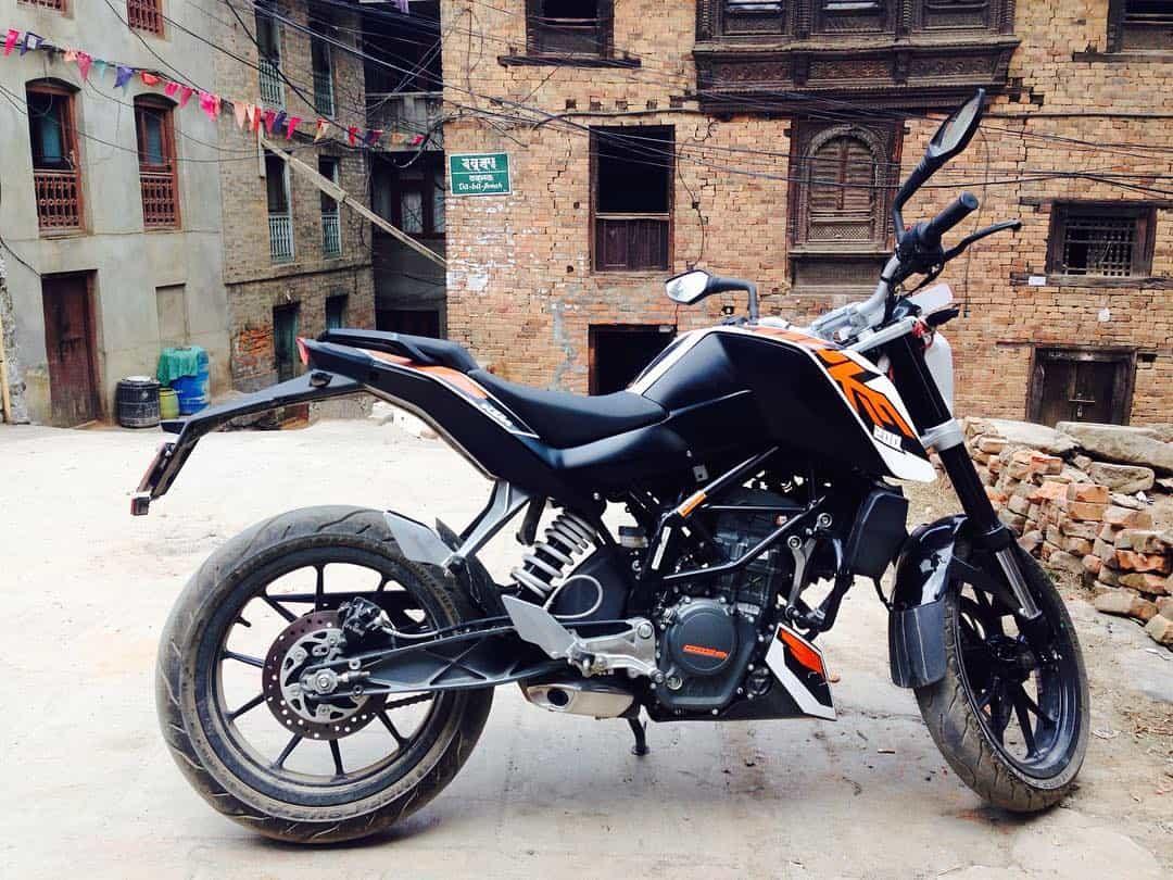 Motorbike Rental in Kathmandu